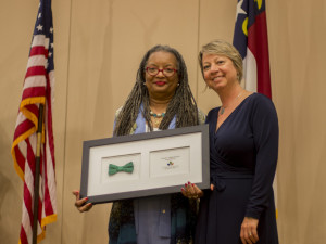 Senator Angela Bryant received 2014 Senator of the Year