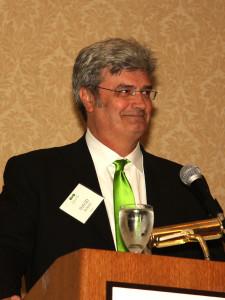 David Burney, CEO of New Kind, served as keynote speaker for 2012 Green Tie Awards