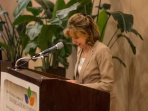 Senator Kay Hagan at 2014 Green Tie Awards