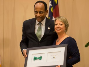 Rep. Larry Hall received Representative of the Year 2014