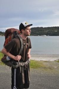 Jesse hiking