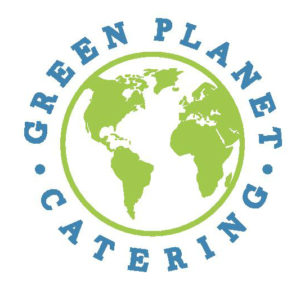 Logo for Green Planet Catering company