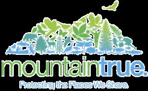 Logo for the nonprofit organization MountainTrue, a western North Carolina environmental nonprofit
