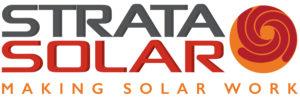 Logo for Strata Solar: Making Solar Work