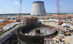 Half-completed nuclear energy reactors in Georgia