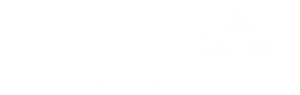 North Carolina League of Conservation Voters full white logo